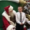 Important conversation happening with Santa