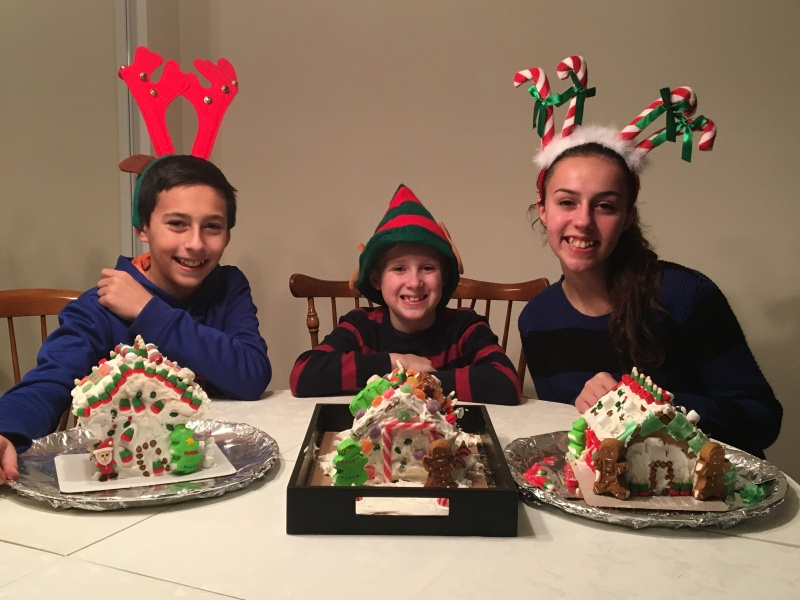Annual Gingerbread Houses