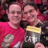 NYC Christmas tradition with Chris's family is to see a play, this year was Cats!