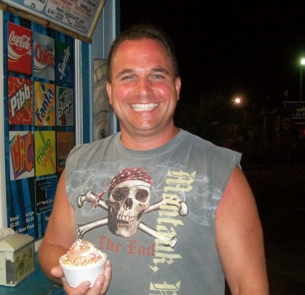 Richie loves ice-cream