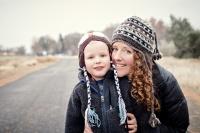adoptive family photo - Ellen