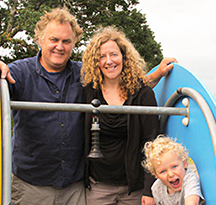 Ellen, Dave and Miles - Hopeful Adoptive Parents
