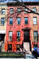 photo of adoptive family's home in NYC