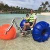 Water bike!