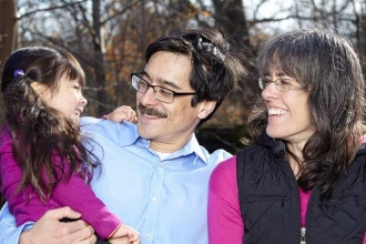 photo of adoptive family's story