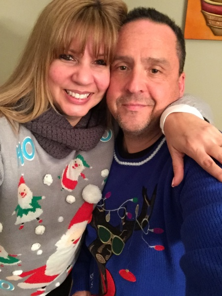 Ugly Xmas Sweater party.