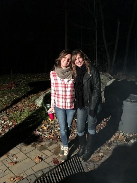 Celebrating Octoberfest with bestie Kim!