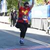 Liz ran the Avengers Half Marathon at Disneyland
