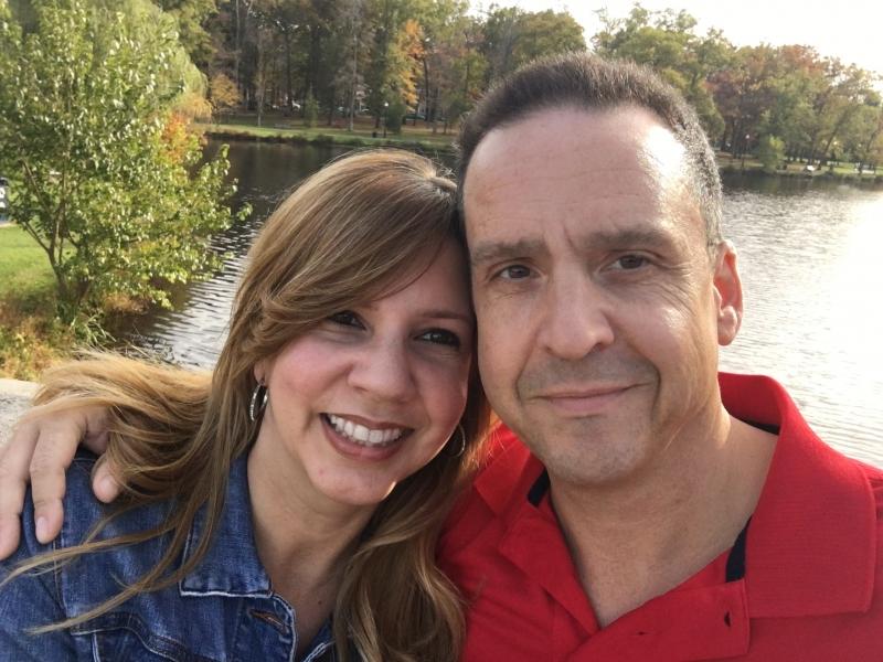 Teresa and James
