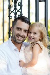 adoptive family photo - Scott