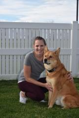 adoptive family photo - Dana