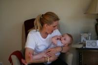 adoptive family photo - Elise
