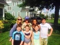 adoptive family photo - Suzanne