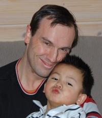 adoptive family photo - Geoffrey