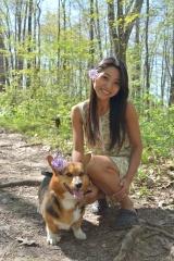 adoptive family photo - Aki