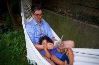 adoptive family photo - Alex, by Brad