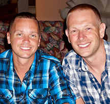 Chris & John - Hopeful Adoptive Parents