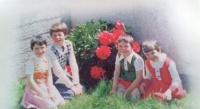 adoptive family photo - Annmarie