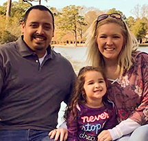 Ricky, Jackie & Emma - Hopeful Adoptive Parents