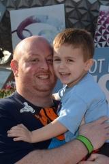 adoptive family photo - James