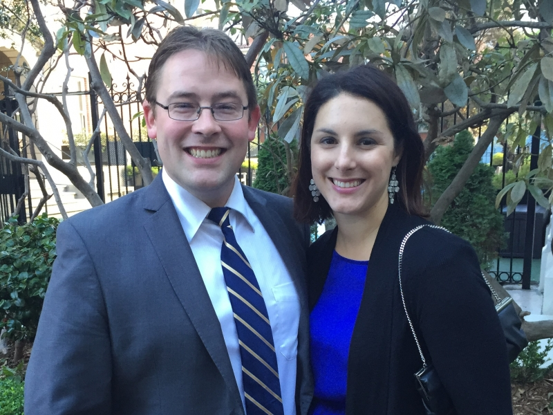 Kathleen and Erik