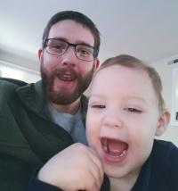 adoptive family photo - Matt