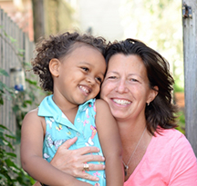 Andrea & Isabella - Hopeful Adoptive Parents