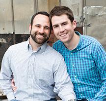 Joe & Zach - Hopeful Adoptive Parents