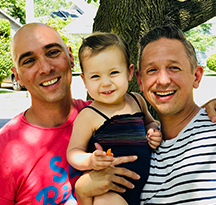 Joe, Joe & Margot - Hopeful Adoptive Parents