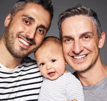George & Daniel & Matteo (310) 801-3619 - Hopeful Adoptive Parents
