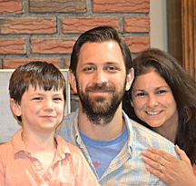 Michelle, Will and Harrison - Hopeful Adoptive Parents