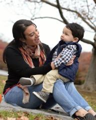 adoptive family photo - Stefanie