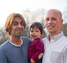 Brad and Raj - Hopeful Adoptive Parents