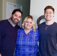 adoptive family photo - Gary