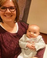 adoptive family photo - Danielle