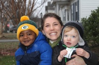 adoptive family photo - Amelia