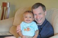 adoptive family photo - Dave