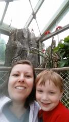 adoptive family photo - Sarah