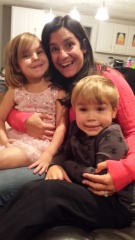 adoptive family photo - Julie