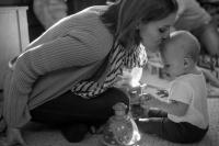 adoptive family photo - Karin