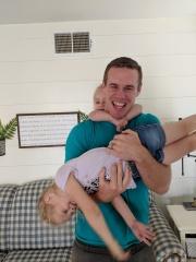 adoptive family photo - Adam