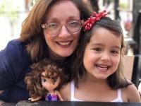adoptive family photo - Michelle