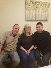 adoptive family photo - Justin