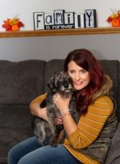adoptive family photo - Lani