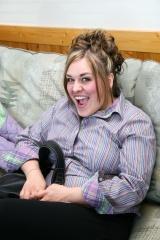 adoptive family photo - Meg