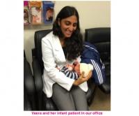adoptive family photo - Veera