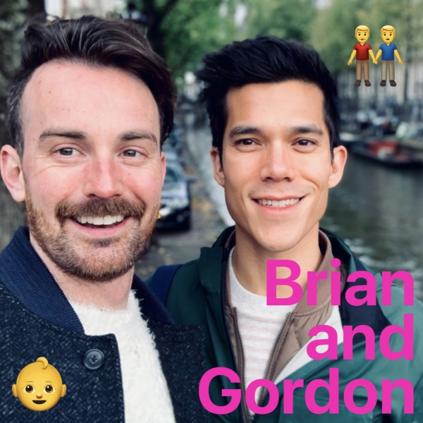 Brian and Gordon Adopt ☺️☺️☺️