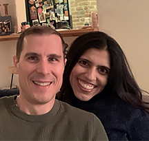 Sapna & Bart - Hopeful Adoptive Parents