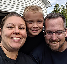 Sarah, Joe and Alex - We look forward to getting to know you! - Hopeful Adoptive Parents