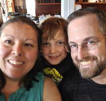 Sarah, Joe and Alex - We look forward to getting to know you! - Hopeful Adoptive Parents